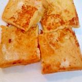 食パンの フレンチトースト