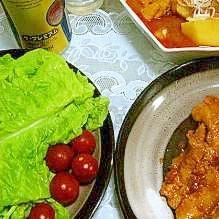 チェユッポックン(豚肉のコチュジャン焼き)