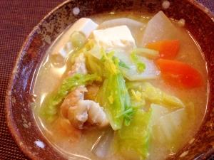 基本の鶏粕汁☆あったまる冬のご馳走☆簡単美味しい