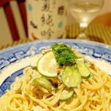 ランチにお弁当に、鰹生節でサラスパ