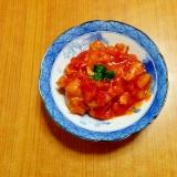 鶏肉♡りんごトマト煮