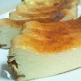 水切りヨーグルトのスティックチーズケーキ♪
