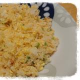 シンプル☆鮭フレーク炒飯