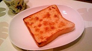 塩麹で、和風トースト