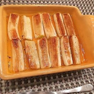 長ねぎのバルサミコ酢マリネ