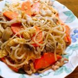 素麺チャンプルー