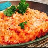 山ご飯☆ 濃厚トマトチーズリゾット
