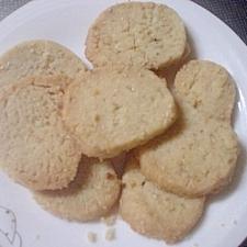 すりゴマ&白ゴマでセサミンクッキー☆