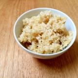 冷凍保存で毎日 発芽玄米ご飯