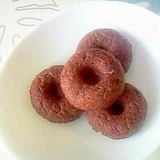 しっとり♪おからチョコ焼きドーナツ++