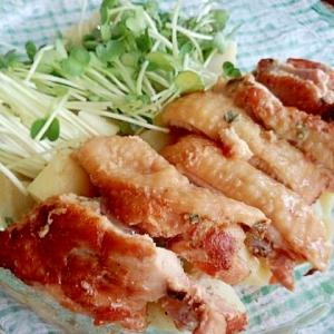鶏もも肉の冷凍保存☆ネギとしょうゆ糀でサッパリ焼き