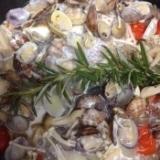 フライパンで鯛のアクアパッツァ
