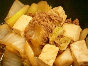 簡単おいしい!☆豆腐のすき煮☆