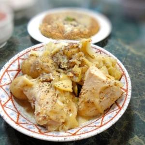 鶏肉の軽い煮込み・リンゴマスタード