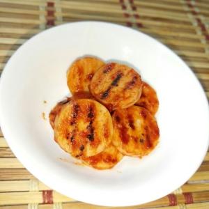 お弁当に☆魚肉ソーセージのケチャップ焼き