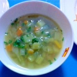 カレーベジベジスープ