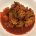 炊飯器で簡単!玉ネギたっぷり♪鶏むね肉のトマト煮