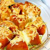 かぼちゃ煮のチーズ焼き