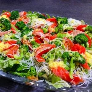 サーモンの贅沢サラダ
