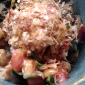 トマトと大葉の納豆和え