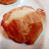 クリームチーズとモッツァレラチーズのクロワッサン