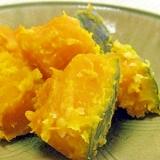 甘いんです♪塩麹でかぼちゃの蒸し煮