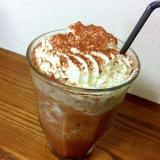 CaféFrappeでモカチョコチップフラッペ♡