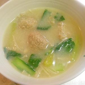 ☆肉団子鶏がら塩糀スープ☆