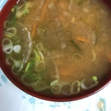 大根と人参とナスのお味噌汁(*^^*)☆