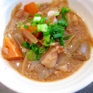 牛すじの煮物 (醤油ベース)