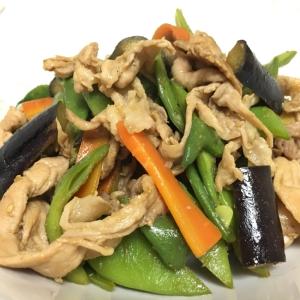 豚肉とモロッコインゲンの炒め物