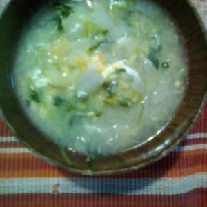 野菜卵スープ