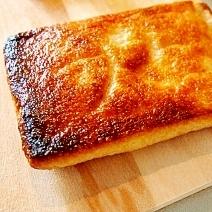 チーズ入り揚げのサクサク焼き