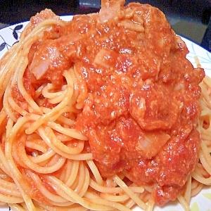 トマトとチーズの簡単パスタ