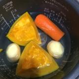 離乳食にも☆炊飯器でまとめて茹で野菜