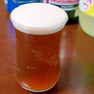柚子バルサミコビールカクテル