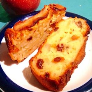 ホットケーキミックスで簡単★ヨーグルトりんごケーキ