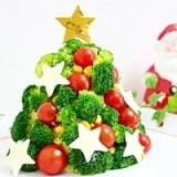 クリスマスツリーのポテトサラダ