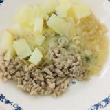 ⁑離乳食カミカミ期⁑ポテトサラダ♪和風
