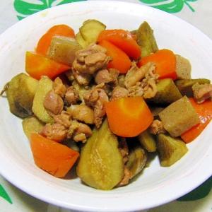 簡単!ヘルシー!美味しい!親鶏と根菜の旨煮