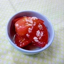 トマトの塩糀漬け
