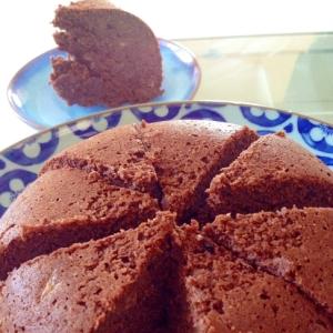 炊飯器♪簡単おからのココアバナナケーキ♪