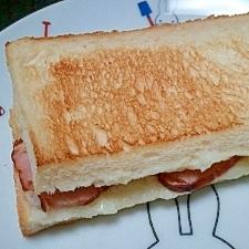 お手軽で美味しい!焼豚サンド