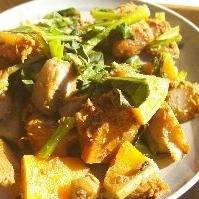 里芋とかぼちゃの味噌煮
