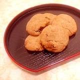 トースターで♪黒糖レーズン蕎麦クッキー