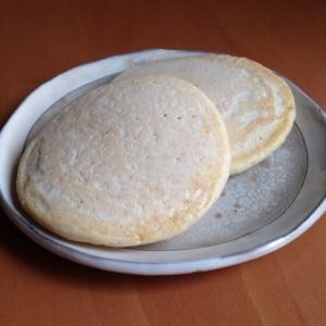 卵不使用♪豆乳パンケーキ