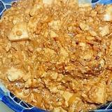 すき焼きのたれともやしで麻婆豆腐