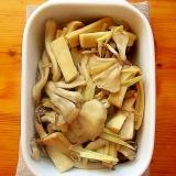 作り置きおかず♪きのこと生姜の昆布茶炒め