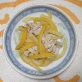 簡単一品おつまみにも 塩茹で豚と柚のソテー