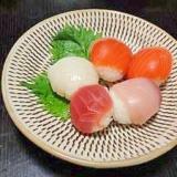 刺身盛り合わせでお手軽「手まり寿司」